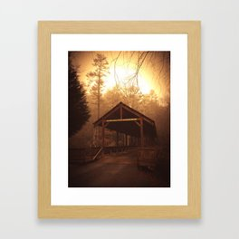 Walk Your Horses Framed Art Print