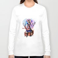 returns Long Sleeve T-shirts featuring Alice madness returns by ururuty