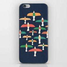 Vintage seagull iPhone Skin
