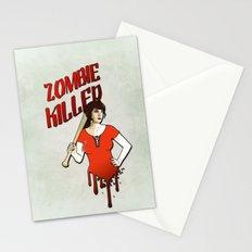Zombie Killer Stationery Cards