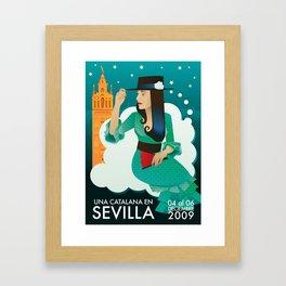 Sevilla Feria Framed Art Print