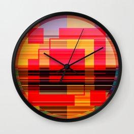 Geometric Study Wall Clock