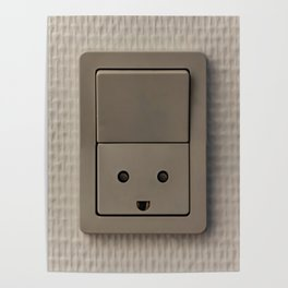 Smiling Power Outlet Poster