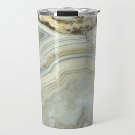 White Agate Travel Mug