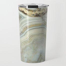 White Agate Travel Mug