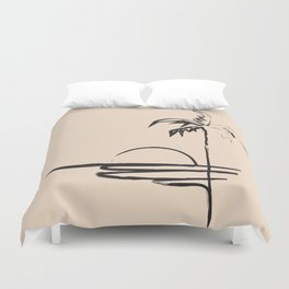 Abstract Landscpe Duvet Cover