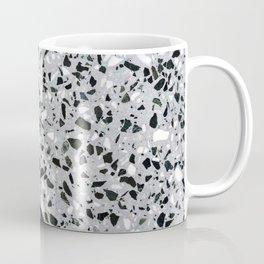 Concrete terrazzo marble texture speckle pattern gray Coffee Mug