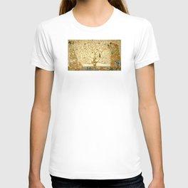 Gustav Klimt - Tree of Life T-shirt