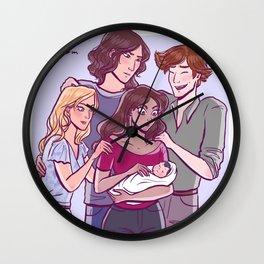 Holding Declan, Bloodlines fanart Wall Clock