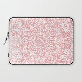 Light Pink Mandala Laptop Sleeve
