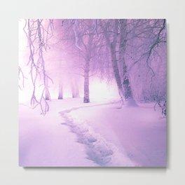 WINTER WOODS - 30118/2 Metal Print