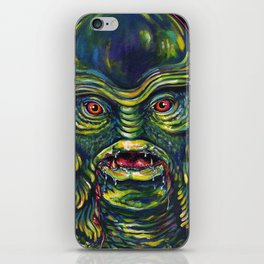 Creature From The Black Lagoon iPhone Skin