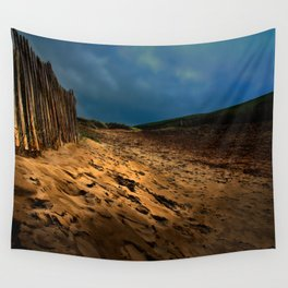Bantham Beach Exit Wall Tapestry