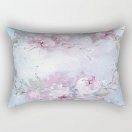Crown Rose Rectangular Pillow