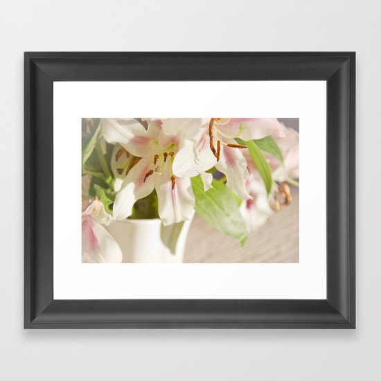 Lilies of the Field Framed Art Print