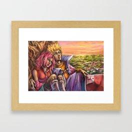 Calming Sunset Framed Art Print
