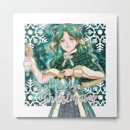 Merry Xmas Michiru! Metal Print