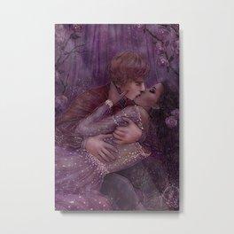 Magic Tales Series - Sleeping Beauty Metal Print