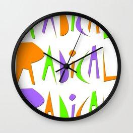 It's Radical! Wall Clock