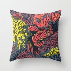 DECEMBLOB Throw Pillow