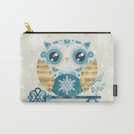 Winter Wonderland Owl Carry-All Pouch