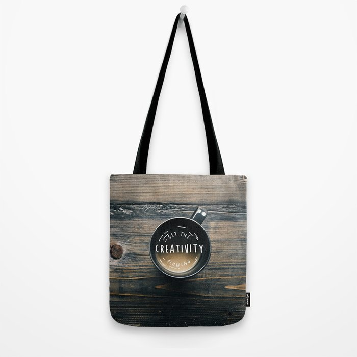 Get the creativity flowing #society6 Tote Bag