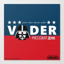 Death Star needs you ! Canvas Print
