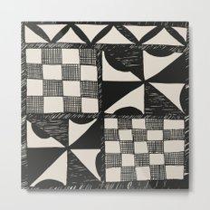 Tapa Cloth | Pacifica Patterns | Tribal Art Metal Print
