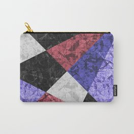 Marble Geometric Background G435 Carry-All Pouch