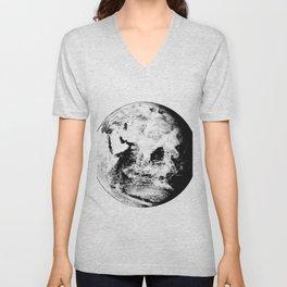 Earth Globe Unisex V-Neck