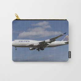United Airlines Boeing 747 Carry-All Pouch