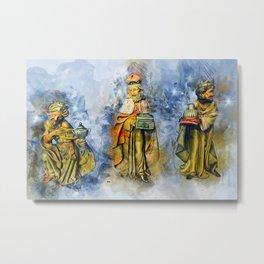Three Wise Men Metal Print