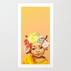 I'm Princess, too Art Print