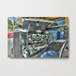 Guy Arab Bus Engine Metal Print
