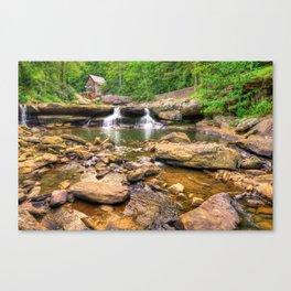 Glade Creek Mill - Beckley West Virginia Canvas Print