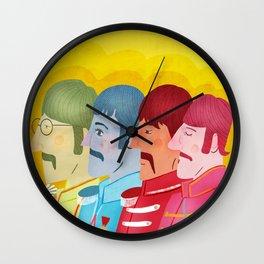John, Paul George and Ringo Wall Clock