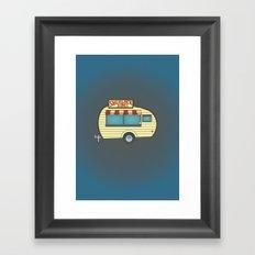 Sherlock Scones Framed Art Print