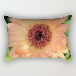 Daisies and Dew Drops Rectangular Pillow