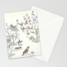 With a rush of wings,,, Stationery Cards