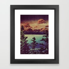Diving into the Details at Hon Framed Art Print
