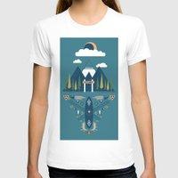 explore T-shirts featuring explore by Zachary Kiernan