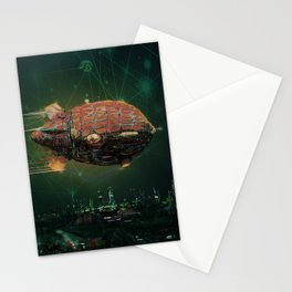 Doctor Dwarf Over Occator Stationery Cards