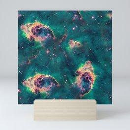 Nebula texture #37: Sandstorm Mini Art Print