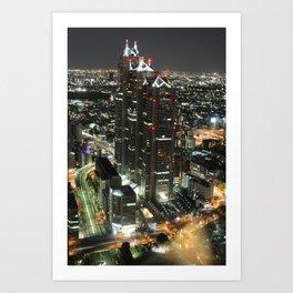 Tokyo, Japan Art Print