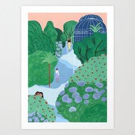 Le Détour Art Print