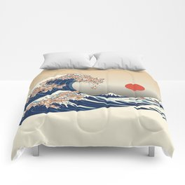 The Great Wave of Chihuahua Comforters