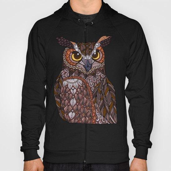 Great Horned Owl Hoody