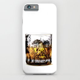 BUKOWSKI about drinking iPhone Case