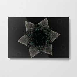 Lights Within a Star Metal Print