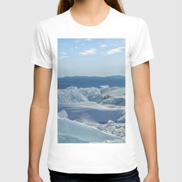 Pressure Ridges of Ice Lake T-shirt
